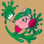 【カービィのプププなペイント日和】東急ハンズでグリーンを基調としたグッズが発売決定!