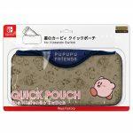 【グッズ】星のカービィ クイックポーチ for Nintendo Switchが発売決定!